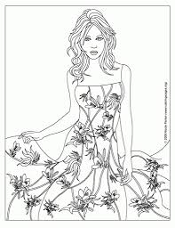 Small Picture Old Fashion Coloring Pagesfashion Printable Coloring Pages Free