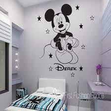mickey mouse wall art