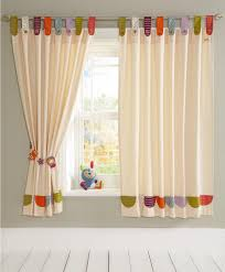 image of curtains for a baby nursery ideas