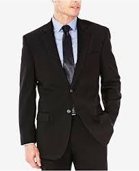 J M Sharkskin Classic Fit Suit Jacket