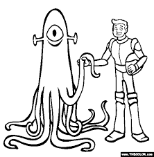 Small Picture World of Tomorrow Online Coloring Pages Page 1