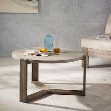 concrete outdoor coffee table