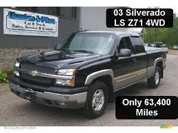 Silverado 2003 chevy silverado extended cab : 2003 Black Chevrolet Silverado 1500 Z71 Extended Cab 4x4 #30816379 ...