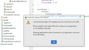 And Zipalign Studio Apk Android Flashes Build Zipalign Issue exe FqXTxzw