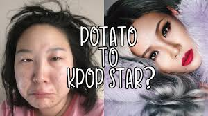 can mac and sephora change me into a kpop star 2ne1 cl makeup transformation