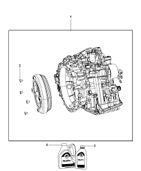 68000676ag genuine jeep trans pkg with torque converter rh moparpartsgiant 42re transmission diagram chevy transmission diagram