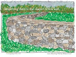 common core picture poems robert frost s mending wall  common core picture poem mending wall by robert frost