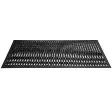 Kitchen Rubber Floor Mats Cactus Mat 2530 C5bx Vip Topdek Junior 3 X 5 Black Rubber Anti