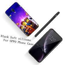 Ốp điện thoại silicon kiểu dáng lego cho OPPO Reno Z 2 2Z 10X Ace 2F Realme  3 Pro X Lite 2 A5