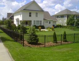 photo decorative aluminum fence colors can affect your whole property