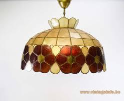 large capiz chandelier
