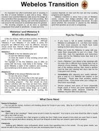 Webelos Attendance Chart Boy Scout Roundtable Presentation Webelos Transition Pdf