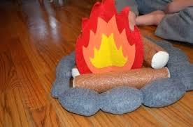 paper fireplace decoration construction