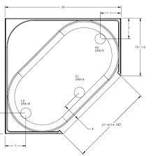 Corner Bathtubs Dimensions Corner Bathtub Dimensions Corner. Corner Garden  Tub ...