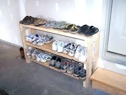 full size of diy closet shoe racks shelves wooden rack shelf door organizer home depot ideas