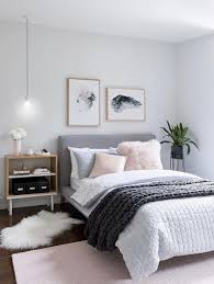 Simple And Beautiful Bedroom Design Beautiful Bedding With A Light Pastel Color Palette