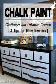 pictures of chalk painted furniturediy with style My First Time Using Chalk Paint  Challenges but