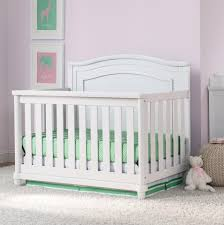 All In One Crib Simmons Kids Belmont All In One Convertible Crib And Rail Kit