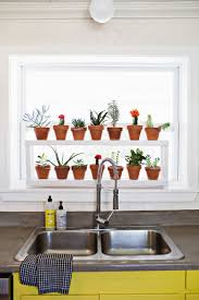 Decorations:Window Ledge Plant Stand In Kitchen Idea Innovative Plant Shelf  Decorating Ideas