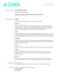 Artrector Resume Examples Creative Resumes Samples Example Pdf Ji