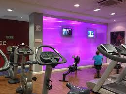 home gym lighting. LED Lighting Features, Sports Centre, Basingstoke Home Gym P