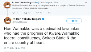 Image result for honourable abdullahi wamakko