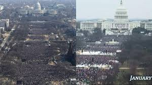 trump inauguration crowd size fox these aerial photos show how trumps inauguration crowd compares