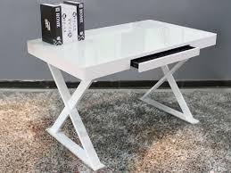 modern white office desks. glass desk office modern white top work pertaining to desks