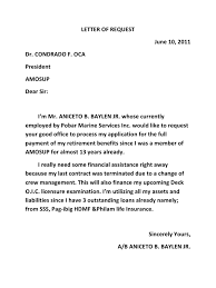 Letter Of Request Relevant Sample Of Authorization Letter For Sss