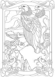 Welcome To Dover Publications Adelaar Coloring Books Adult