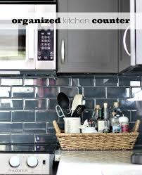 kitchen counter. Hi Sugarplum | Organized Kitchen Counters Kitchen Counter