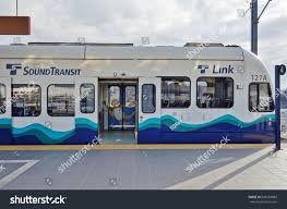 How To Pay For Link Light Rail Seattle Wa 25 Feb 2017 Sound Stock Photo Edit Now 696203089