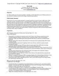 Procurement Resume Objective Procurement Resume Objective