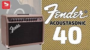 <b>FENDER ACOUSTASONIC</b> 40 - <b>Комбо</b> для акустической <b>гитары</b> ...