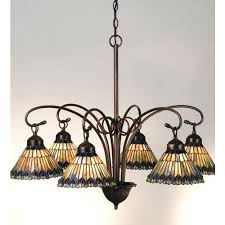 tiffany stained glass chandelier stained glass six light down lighting chandelier tiffany style stained glass chandelier