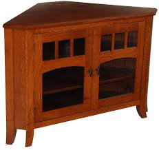 Corner Wood Tv Stands Old World 32n Corner Tv Stand Corner Oak Tv ...
