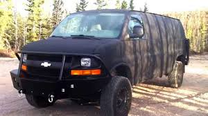 All Chevy 99 chevy express : Lifted 4X4 Chevy Van Conversion - YouTube