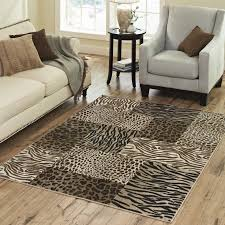 awesome cheetah print rugs makeyourdaydiy in area ru on living room attractive safari animal black white