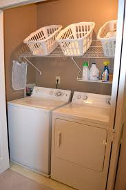 diy ideas for room organization. laundry-room-organization-ideas-slanted-shelf diy ideas for room organization