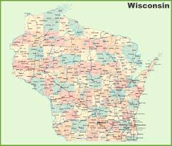 wisconsin state maps  usa  maps of wisconsin (wi)