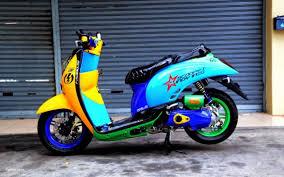 gambar modifikasi skotlet motor scoopy pilihan terbaik modifikasi racing