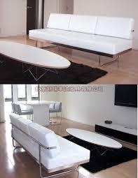 modern italian leather sofa. Fine Sofa Leather Sofa Three Simple Modern Italian Leather Grade Stainless Steel  Front For Modern Sofa E