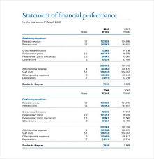 Financials Template 27 Financial Statement Templates Pdf Doc Free Premium Templates