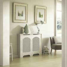 Cambridge Small White Painted Radiator Cover | Departments | DIY at B&Q