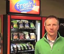 Fresh Healthy Vending Machines Classy Vending Machine Business Brings Healthy Products To Regional Schools