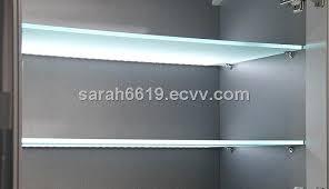 led strip light for 8mm glass shelf