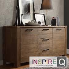 Myra II Modern Rustic Walnut Driftwood Buffet | Overstock.com Shopping -  Big Discounts on