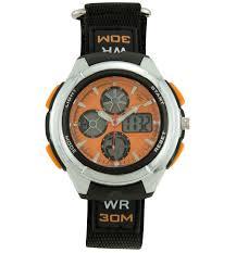 digital watch matthew lillard the descendants watch id mens calendar day date chrono digital watch w orange dial faststrap band