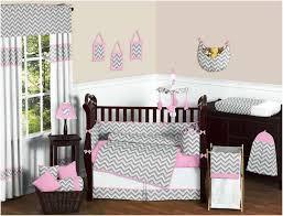 purple and gray chevron crib nursery bedding canada