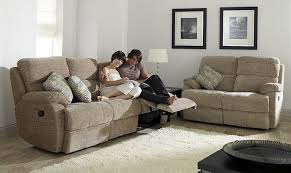 fabric recliner sofa. Aston Fabric Recliner Sofa R